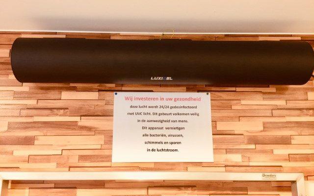 Brasserie terug open 13 juni